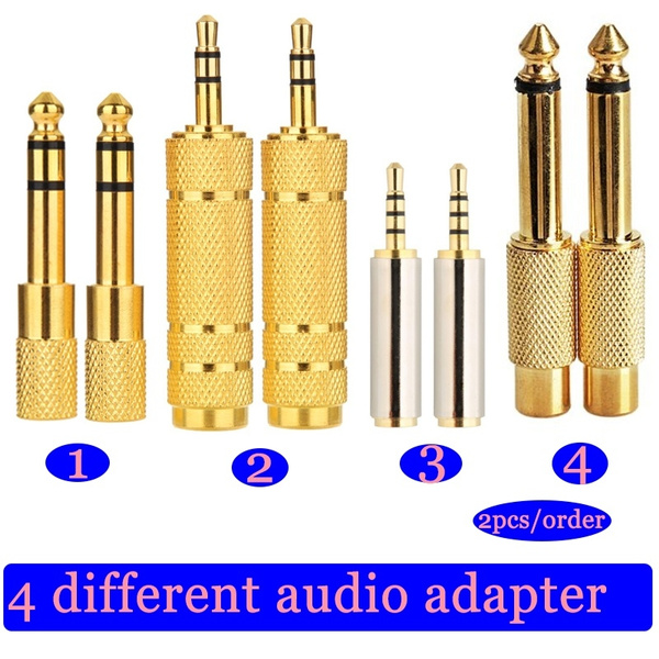 maletofemale, monoplug, gold, audioplug