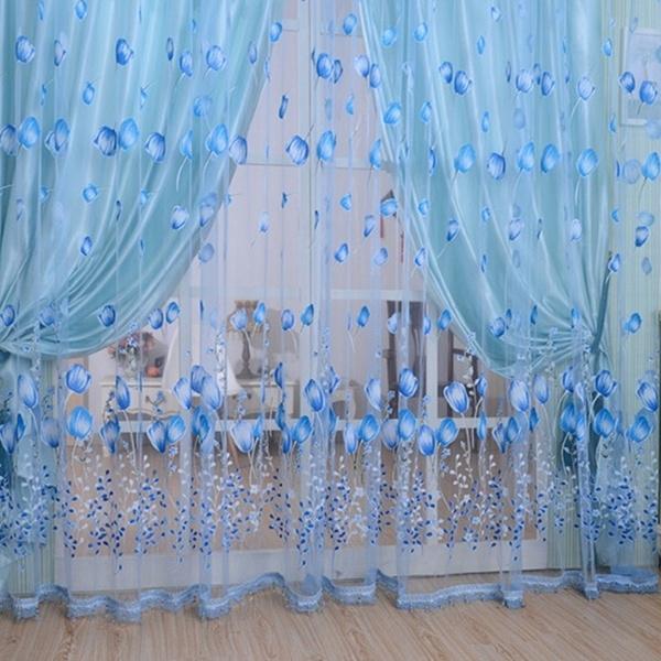 Tassels, Flowers, Door, Home Decor