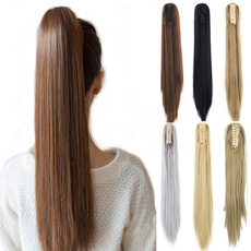 ponytailextension, pony, human hair, Hair Extensions