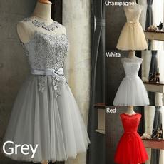 Bridesmaid, Slim Fit, Lace, Evening Dress
