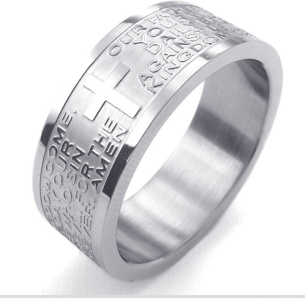 titanium steel, lover gifts, Classics, Stainless steel ring