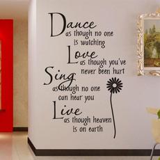roomsticker, Decoración, Love, Decoración de hogar
