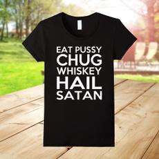 Funny, shortsleevestshirt, Cotton T Shirt, Crewneck