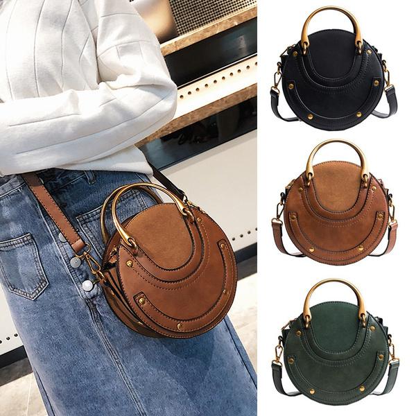 Shoulder Bags, Fashion, calfskin, leather
