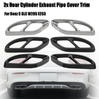 SILVER XITER No Drill Anti-Slip Aluminum Gas Brake Pedal Cover Foot Pedal Pads kit For Mercedes-Benz C E S GLC GLE GLK SLK CLS SL Class W204 W205 W213 X253 W167