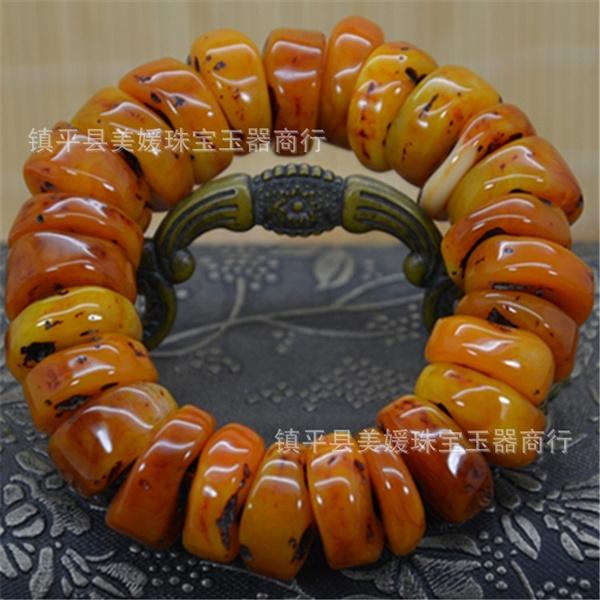 amber, Jewelry, Bracelet, buddhabead