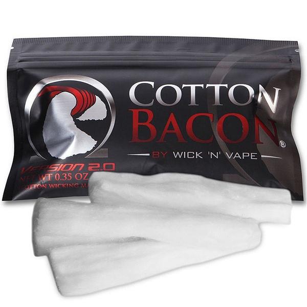 Wick N Vape Bacon V2 Watte Zubehör Wickelwatte Selbstwickler BaconV2 Cotton