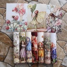 fairy, handmadefabric, Flowers, Fabric
