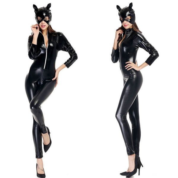 catwoman halloween kostym