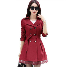 trench, trenchcoatforwomen, Lace, Spring