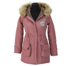 Jacket, hooded, fur, Outerwear