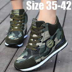 wedge, Sneakers, camouflageshoe, exerciseampfitne