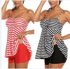Summer, bandage swimsuit, Fashion, Beach