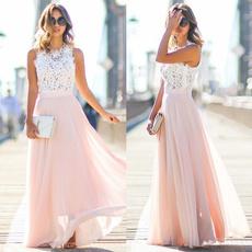 Summer, Lace Dress, Lace, chiffon