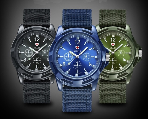 Swiss, quartz, Waterproof Watch, Army