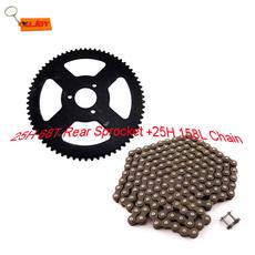 Mini, 25h68trearsprocket, Chain, 25h158lchain