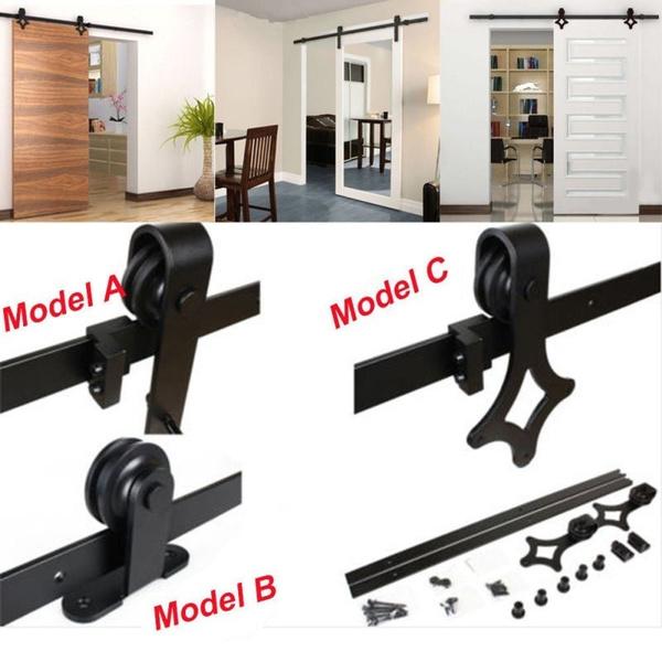 Steel, Door, slidingrail, barndoor
