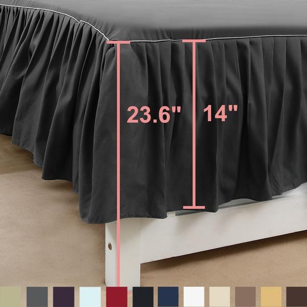 bedskirt, bedspreadset, mattressprotector, Polyester