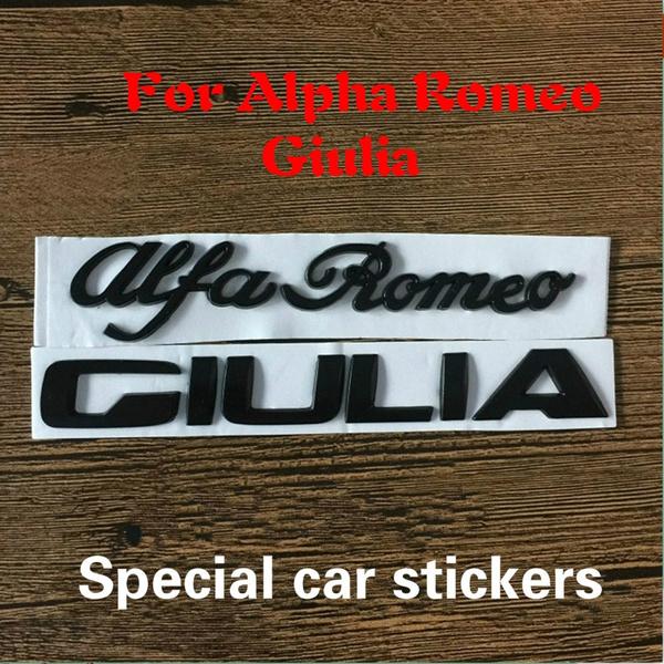 alfa, Cars, Stickers, giulia