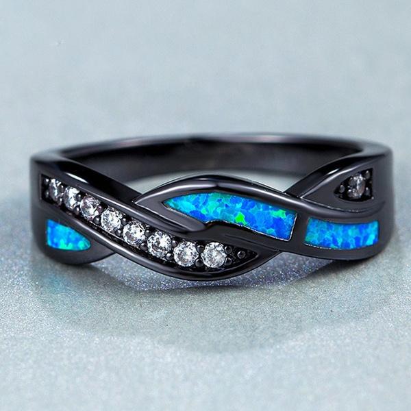 blackgoldring, ringsformen, bandring, Jewelry