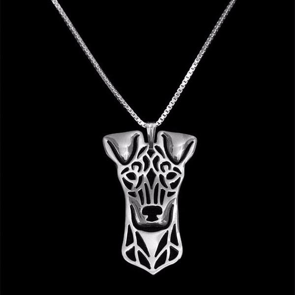 Necklace, Jewelry, standardmanchesterterrier, necklacesjewelry