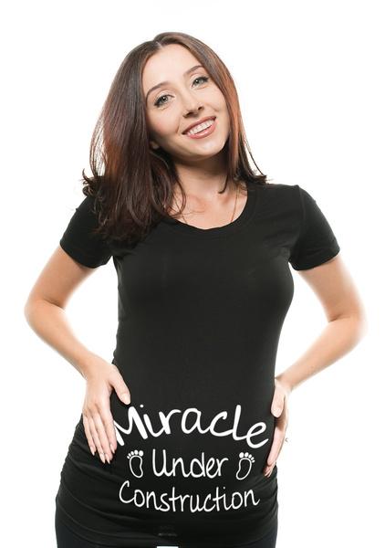 Funny, pregnantwoman, Fashion, Shirt