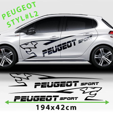 208, Stickers, Decal, Racing
