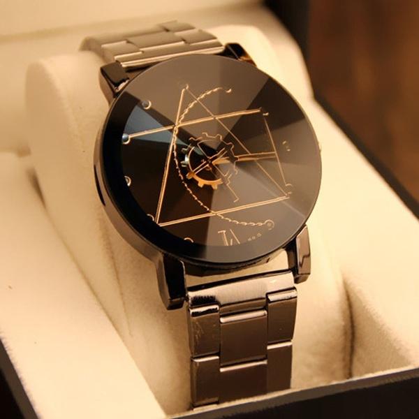 Steel, quartz, Jewelery & Watches, Stainless Steel