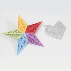 diarydecoration, Star, carftdie, Metal