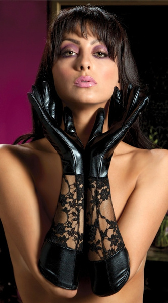latex, Lace, leather, long