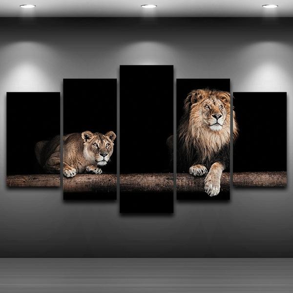 seriouspainting, Decor, living room, Animal