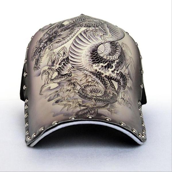 Fashion, dragonpatternhat, Chinese, Hip-Hop Hat
