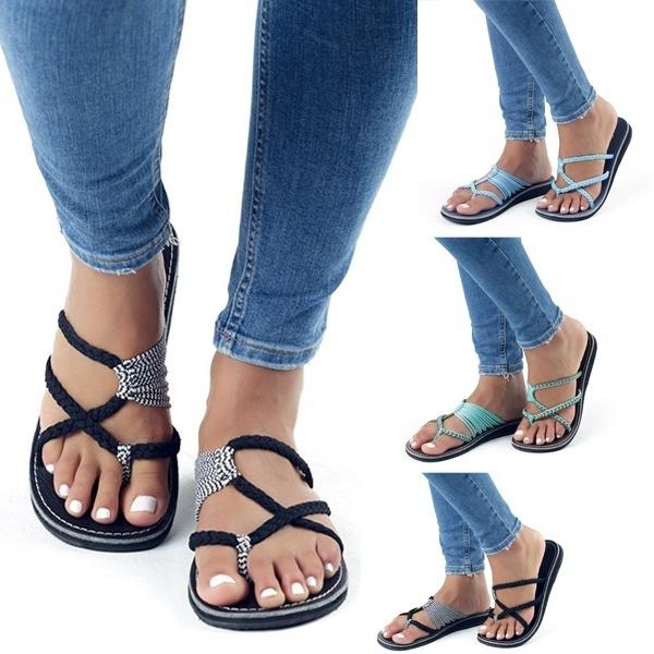 casual shoes, Summer, Flip Flops, Sandals