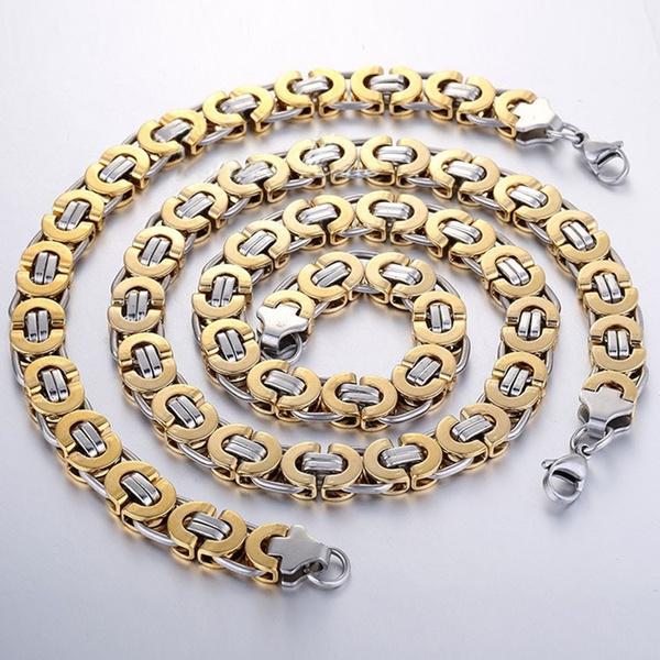 Halskette herren gold
