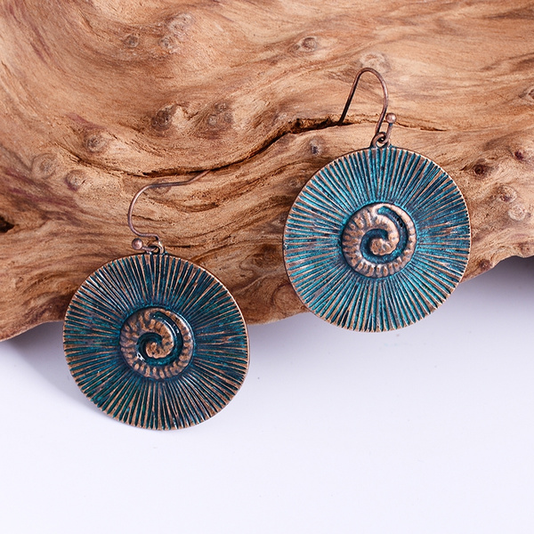 earringforwomen, Antique, Jewelry, spiralearring