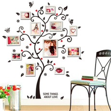 Family, Tree, Wall Decals & Stickers, photopictureframe
