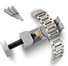 Pins, jeweleryampwatche, adjustablewatchband, Metal