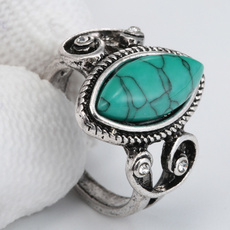 Sterling, turquoisering, Turquoise, 925 sterling silver