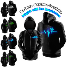 hoodiesformen, environmental protection, hooded, Animal