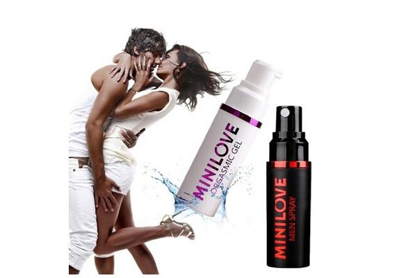 Minilove Orgasmic Gel for Women, Climax Spray, Strongly Enhance Female Libido   Wish