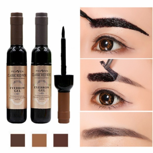 dyeeyebrowgel, eyebrowcream, Coffee, Makeup