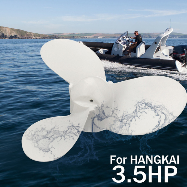 3 Blade Aluminium Outboard Propeller Prop for   3.5HP