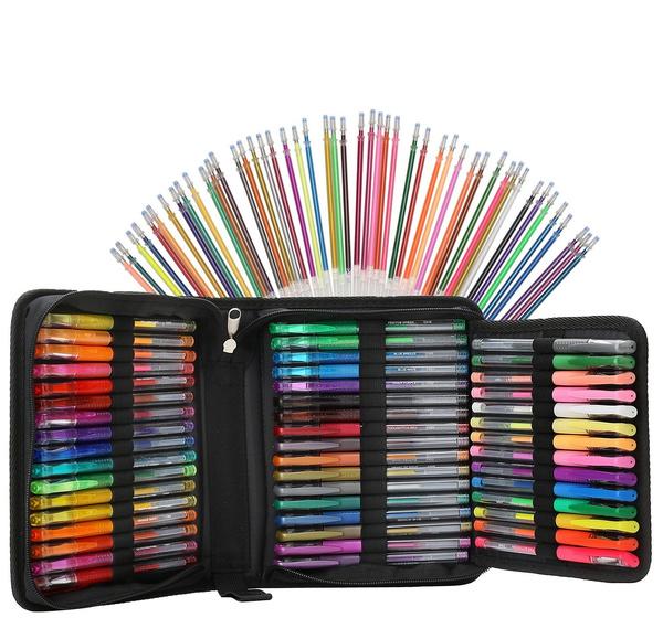 pencilcase, pencase, art, watercolorcoloredpencil