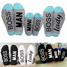letterssock, Mini, familysock, Cotton Socks