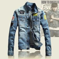 wintercoatformen, slim, men's jeans, denim jacket