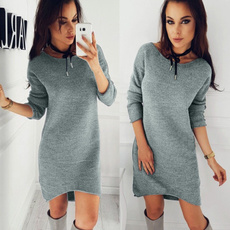 2017fashionwomensweater, Plus Size, long sleeve sweater, wintercasualdre