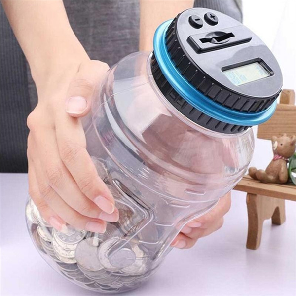 Box, Home Decor, savingmoney, coincounterjar