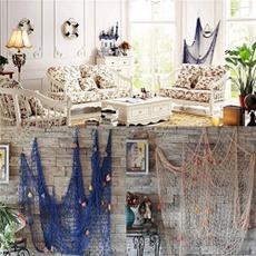 seasidebeachshell, decorativefishnet, partydoorwalldecoration, authenticnauticalfishnet