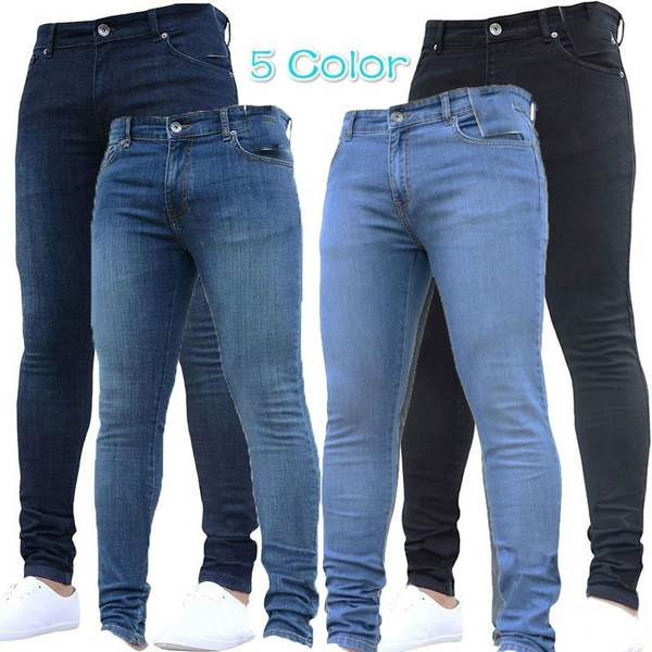 men's jeans, Plus Size, men trousers, pants