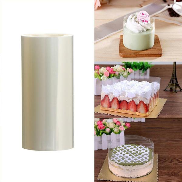Baking Tool Tape DIY Transparent Cake Collar Roll Edge Wrap Mousse Surrounding